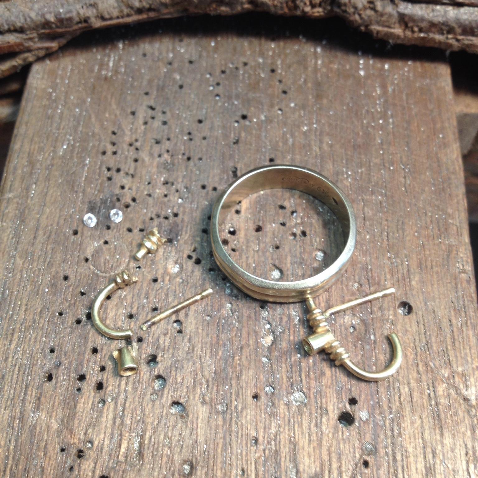 Oude gouden sieraden
